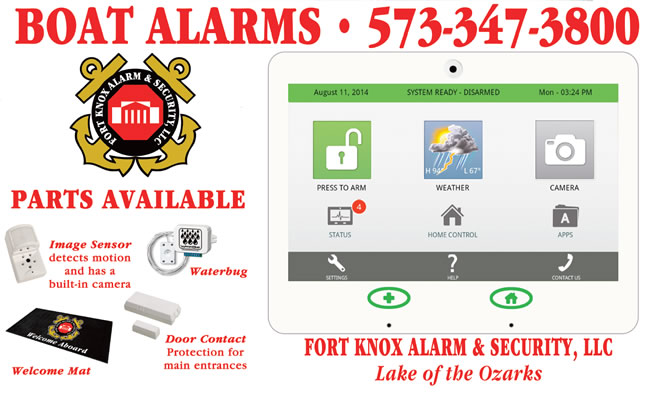boat alarm systems